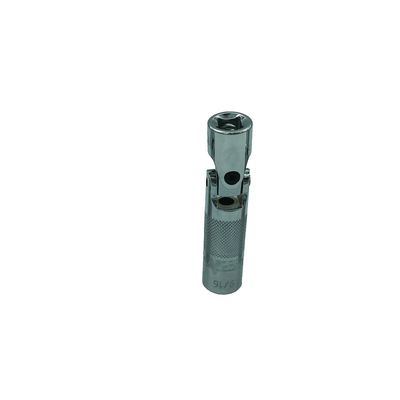 9/16'' 6 POINT SPRING LOADED UNIVERSAL JOINT SPARK PLUG SOCKET 3/8'' DRIVE 3-1/2'' LONG | Matco Tools