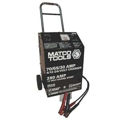 6/12/24V HEAVY-DUTY WHEEL CHARGER | Matco Tools