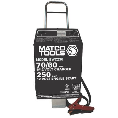 6/12V HEAVY-DUTY WHEEL CHARGER | Matco Tools