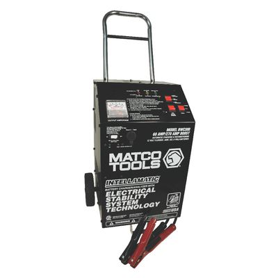 12V INTELLAMATIC SMART WHEEL CHARGER WITH POWER SUPPLY AND MEMORY SAVER | Matco Tools