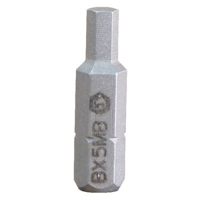 "3/8"" METRIC HEX QUIKBIT - 5MM 