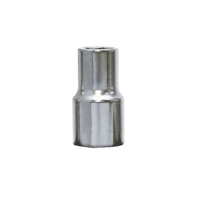 "1/2"" DRIVE 12MM METRIC 6 POINT CHROME SOCKET 