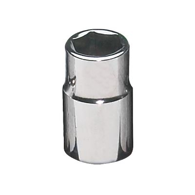 "1/2"" DRIVE 7/16"" SAE 6 POINT CHROME SOCKET 