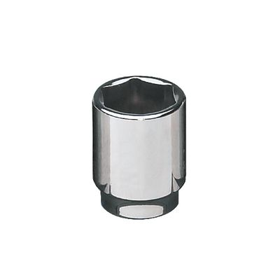 "1/2"" DRIVE 21MM METRIC 6 POINT CHROME SOCKET 