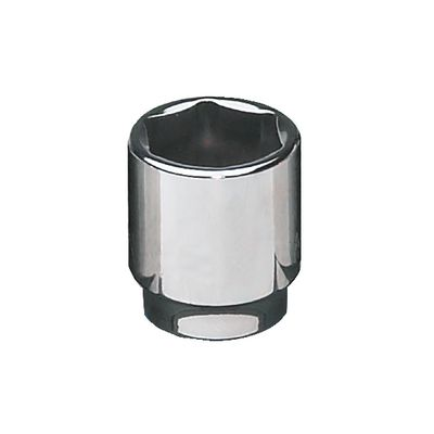 "1/2"" DRIVE 30MM METRIC 6 POINT CHROME SOCKET 