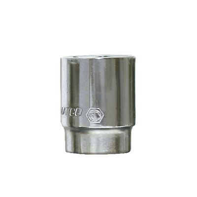 "1/2"" DRIVE 1-1/2"" SAE 6 POINT CHROME SOCKET 