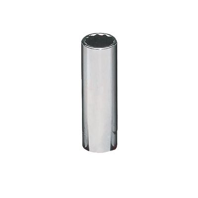 "1/2"" DRIVE 5/8"" SAE 12 POINT DEEP CHROME SOCKET 