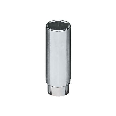 "1/2"" DRIVE 13/16"" SAE 6 POINT DEEP CHROME SOCKET 