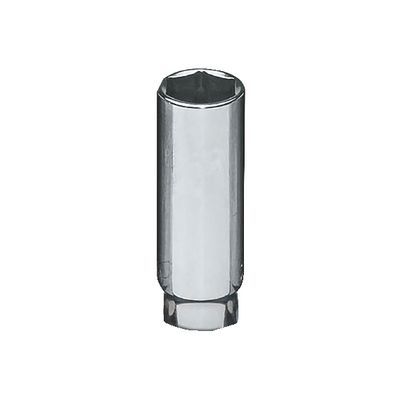 "1/2"" DRIVE 1-1/4"" SAE 6 POINT DEEP CHROME SOCKET 