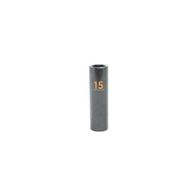 "1/2"" DRIVE 15MM METRIC 6 POINT DEEP IMPACT SOCKET - ORANGE 