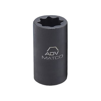 "1/2"" DRIVE 1-1/8"" SAE 8 POINT ADV DEEP IMPACT SOCKET 