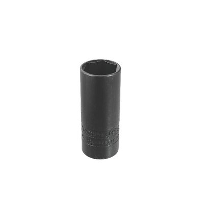 "1/2"" DRIVE 15/16"" SAE 6 POINT DEEP THIN WHEEL LUG SOCKET 