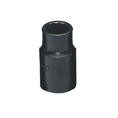 "1/2"" DRIVE 12MM METRIC 12 POINT IMPACT SOCKET 
