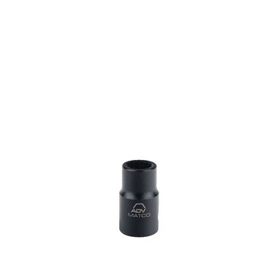 "1/2"" DRIVE 16MM METRIC 12 POINT IMPACT SOCKET 