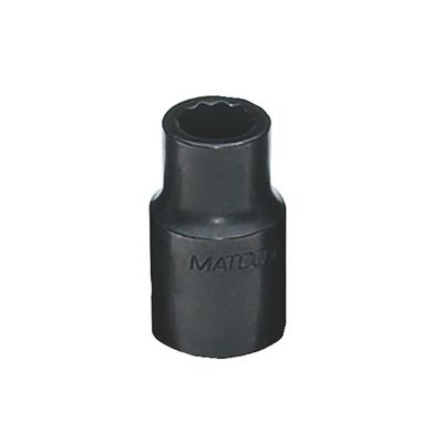 "1/2"" DRIVE 9/16"" SAE 12 POINT IMPACT SOCKET 