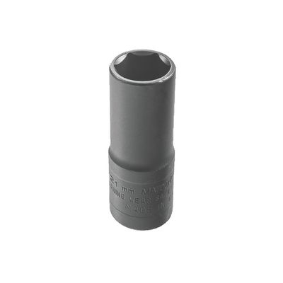 "1/2"" DRIVE 19MM X 21MM 6 POINT METRIC THIN WALL FLIP SOCKET 