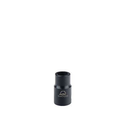 "1/2"" DRIVE 25MM METRIC 6 POINT IMPACT SOCKET 