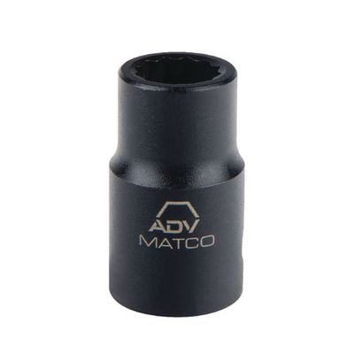 "1/2"" DRIVE 1-1/16"" SAE 12 POINT IMPACT SOCKET 