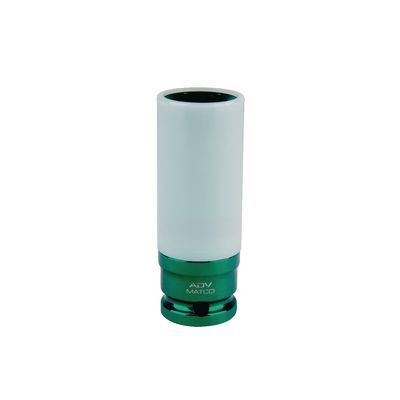 "1/2"" DRIVE ADV 13/16"" SAE 6 POINT WHEEL PROTECTOR IMPACT SOCKET 