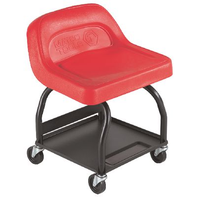 PADDED TRACTOR SEAT - RED | Matco Tools