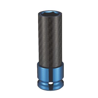 "1/2"" DRIVE 17MM THIN WALL SOCKET-BLUE 