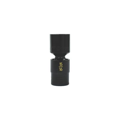 "1/2"" DRIVE 15/16"" SAE 6 POINT UNIVERSAL IMPACT SOCKET 