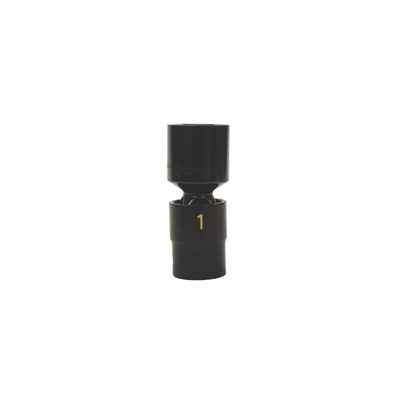 "1/2"" DRIVE 1"" SAE 6 POINT UNIVERSAL IMPACT SOCKET 