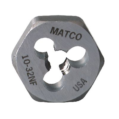 "1"" HEX DIE 10-32 