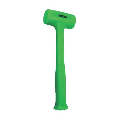 26 OZ  DEAD BLOW HAMMER GREEN | Matco Tools
