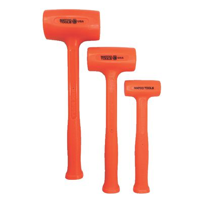 3 PIECE STANDARD HEAD MATCOTHANE™ HAMMER SET ORANGE | Matco Tools