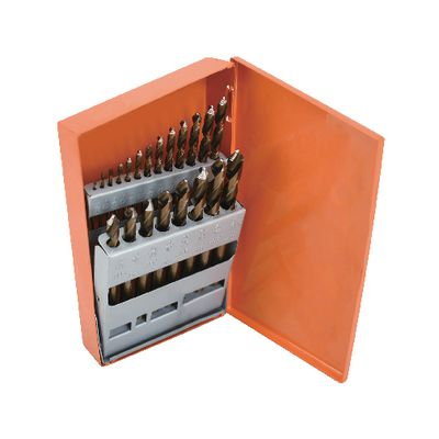 21 PIECE COBALT MECHANIC'S LENGTH HYPER-STEP DRILL BIT SET | Matco Tools