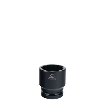 "3/4"" DRIVE 38MM METRIC 12 POINT IMPACT SOCKET 