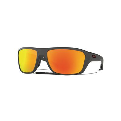 SPLIT SHOT MATTE HEATHER GRAY WITH PRIZM™ RUBY POLARIZED | Matco Tools