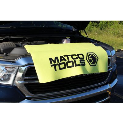 FENDER COVER - YELLOW WITH BLACK LOGO | Matco Tools