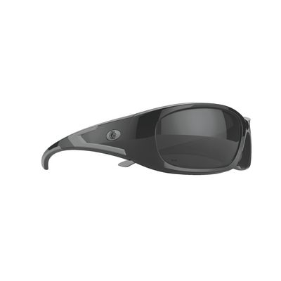 FORCEFLEX SAFETY GLASSES BLACK FRAME WITH FULL FRAME SILVER LENSES | Matco Tools