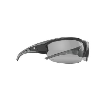 FORCEFLEX SAFETY GLASSES BLACK FRAME WITH HALF FRAME CLEAR LENSES | Matco Tools
