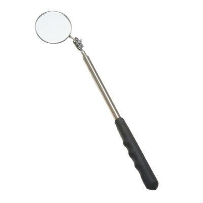 "2-1/4"" ROUND MAGNIFYING EXTRA LONG TELESCOPING INSPECTION MIRROR 