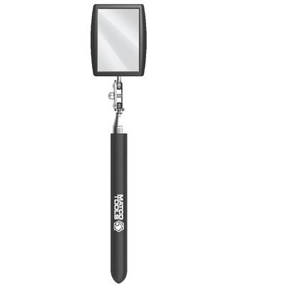 "2-9/16"" X 3-3/4"" RECTANGULAR TELESCOPING INSPECTION MIRROR WITH QUICK CHANGE MIRROR 