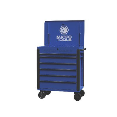 JAMESTOWN SERVICE CART 480 SERIES BLUE WITH BLACK TRIM | Matco Tools
