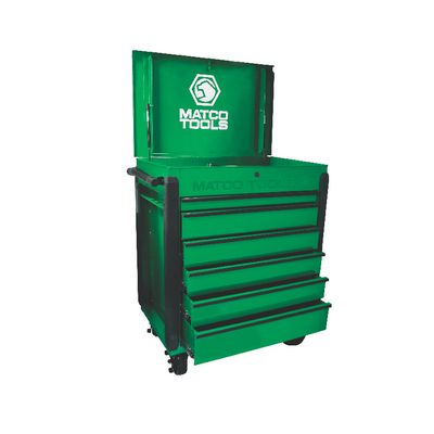 JAMESTOWN SERVICE CART 480 SERIES SCREAMIN' GREEN WITH BLACK TRIM | Matco Tools