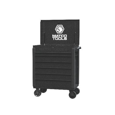 JAMESTOWN SERVICE CART 480 SERIES SILVER VEIN WITH BLACK TRIM | Matco Tools