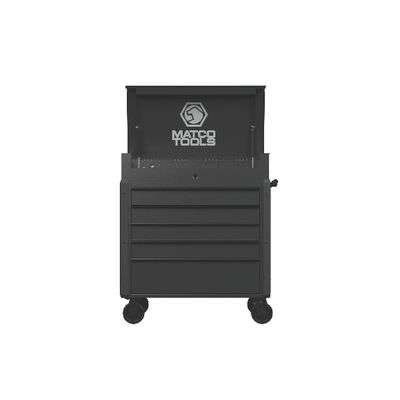 JAMESTOWN SERVICE CART 753 SERIES SILVER VEIN WITH BLACK TRIM | Matco Tools