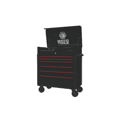 JAMESTOWN SERVICE CART 773 SERIES OUTLAW BLACK WITH RED TRIM | Matco Tools