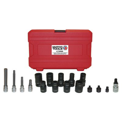 17 PIECE FOREIGN AND DOMESTIC BRAKE CALIPER SOCKET KIT | Matco Tools