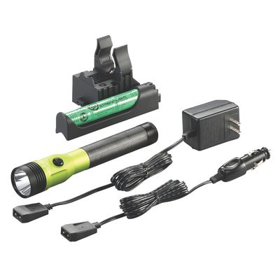 STINGER DUAL SWITCH LED HIGH LUMEN RECHARGEABLE FLASHLIGHT WITH PIGGYBACK CHARGER - LIME | Matco Tools