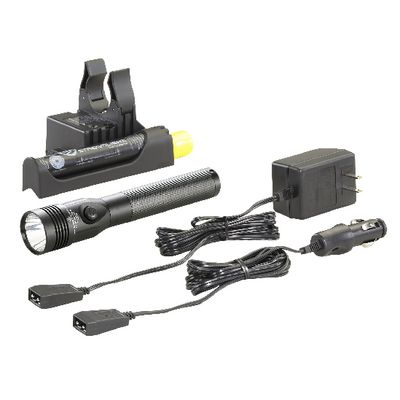 STINGER LED HIGH LUMEN RECHARGEABLE FLASHLIGHT WITH PIGGYBACK CHARGER - BLACK | Matco Tools