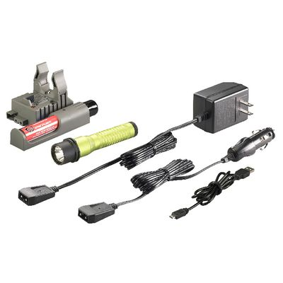 STRION LED HIGH LUMEN FLASHLIGHT WITH PIGGYBACK CHARGER - LIME | Matco Tools