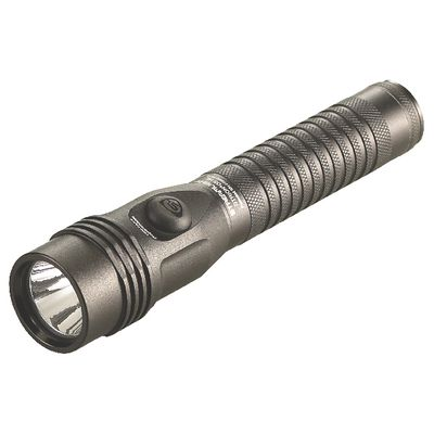 STRION LED DUAL SWITCH HIGH LUMEN FLASHLIGHT WITH PIGGYBACK CHARGER - BLACK | Matco Tools