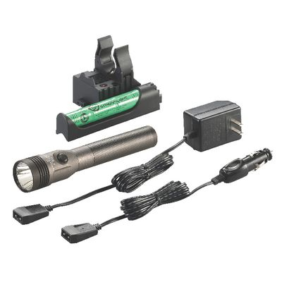 STINGER LED HL RECHARGEABLE FLASHLIGHT WITH PIGGYBACK CHARGER - ANTRON BROWN SILVER | Matco Tools