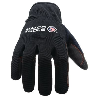 SPEED CUFF GLOVES BLACK - XL | Matco Tools